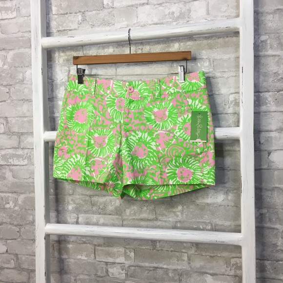 Lilly Pulitzer Pants - Lilly Pulitzer The Callahan Short Sunnyside Size 8